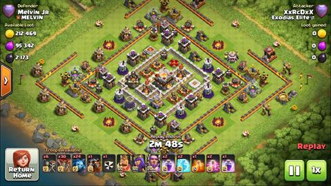 clash of clan rage clash of clans attack videos