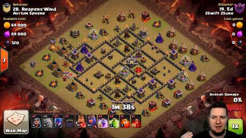 TH9 vs TH9 GoWiWi 3 Star