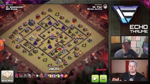 TH9 vs TH9 GoBoLaLoon 3 Star