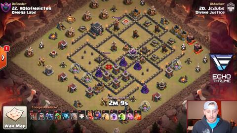 TH9 vs TH9 Octababy 3 Star