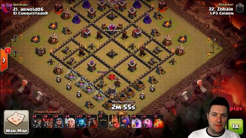 TH9 vs TH9 Queen Walk LaLoon 3 Star