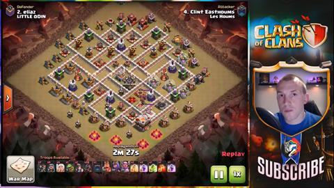 TH11 vs TH11 Queen Walk Hogs 3 Star