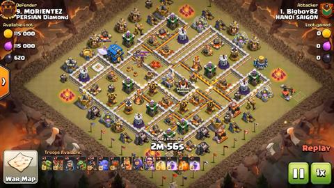 TH12 vs TH12 HoBo 3 Star