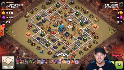 TH12 vs TH12 GoHoBo 3 Star