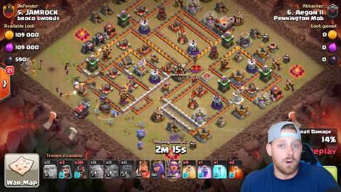 TH11 vs TH11 GoHoBo 3 Star